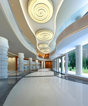 金江工业园办公楼大厅设计方案